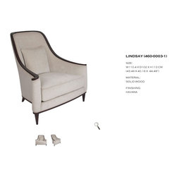 Chic Chic Chicago - Allegra Living - 8 COM yards is required for this beautifully detailed lounge chair. Contact chicchicchicago@gmail.com