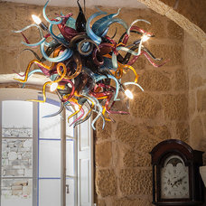 Eclectic Chandeliers by Mdina Glass