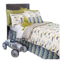 Glenna Jean - Uptown Traffic Cars and Gray Velvet Reversible Children's Duvet Twin - The Uptown Traffic Cars and Gray Velvet Reversible Children's Duvet by Sweet Potato will look great in any child's room.
