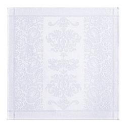 "Le Jacquard Francais - Le Jacquard Francais Siena White Napkin 22 x 22 "" - Siena, the Tuscan origin of Italian Renaissance. A classic option for a timeless design. Damask fabric. 100% Pure cotton."