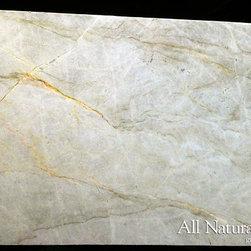 All Natural Stone - Taj Mahal Quartzite Slab - Taj Mahal Quartzite Slab. Perfect for Kitchen or Bathroom Counters.