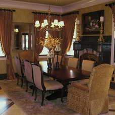 Traditional Dining Room by Bryan Alan Kirkland Designs