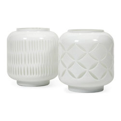 IMAX CORPORATION - Warner White Cut Glass Jars - Ast 2 - Warner White Cut Glass Jars - Ast 2. Find home furnishings, decor, and accessories from Posh Urban Furnishings. Beautiful, stylish furniture and decor that will brighten your home instantly. Shop modern, traditional, vintage, and world designs.