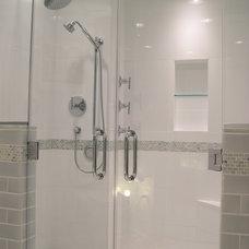 Contemporary Bathroom by Glickman Design Build, LLC