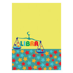 WallPops - Libra Board Wall Decal - The best peacemakers, diplomatic Libra will be decidedly smitten with this dry-erase message board. Document your dreams, and bringstar studded chartreuse to your existence! WallPops are always repositionable and removable.