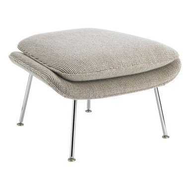 Womb Ottoman - Can you really have the Womb Chair without the ottoman? I didn't think so. This iconic ottoman goes great with its mate or even paired with a leather armchair.