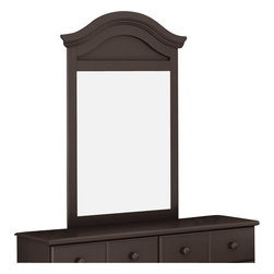 South Shore - South Shore Summer Breeze Vertical Mirror in Chocolate Finish - South Shore - Mirrors - 3219120 - With its chocolate finish and sleek, simple lines, the decorative South Shore Summer Breeze Vertical Mirror will enhance any kids bedroom. Combine it to the optional Summer Breeze Double Dresser for a complete set. Distinctly country in style, the Summer Breeze Vertical Mirror is sure to fit comfortably in your kid's bedroom.