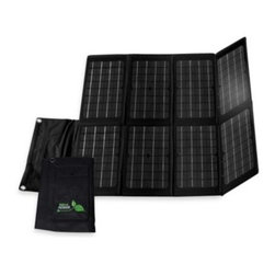 Nature Power - Nature Power 80-Watt Monocrystalline Folding Solar Charger for Laptops and 12-Vo - Use the power of the sun to charge your laptop or 12-volt battery with this 80-watt solar charger from Nature Power. Comes with 10 adapter plugs to let you directly charge most laptop models, and an 8-ampere charge controller for 12-volt batteries.