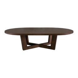 Metropole Dining Table - Jan Rosol 243dt-ov
