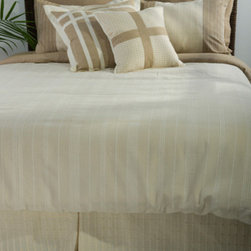 Rizzy Rugs - Melon Natural Full Duvet with Poly Insert Bed Set - - Construction: Applique, piecing and tone on tone woven fabric details  -  Muted tones of beige, sand and ivory create a calm and tranquil ensemble ideal for any transitional setting. Now your room can become your place of serene solace with this elegant and subtle bedding selection.  - Care and Cleaning: Machine wash separately Rizzy Rugs - BT0428 F