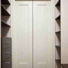 Traditional Closet by K. N. Crowder