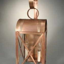 Northeast Lantern - Adams Antique Copper Two-Light Outdoor Wall Light with Clear Glass - -Clear Glass  -Northeast Lantern offers a distinctive collection of early American and Colonial reproduction lighting that is hand crafted in New Hampshire for a lifetime of beauty.  -The fixtures are made of solid brass and copper. They  are cut fitted soldered finished and wired by hand in New Hampshire. Northeast Lantern - 6051-AC-LT2-CLR