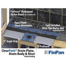 Modern Showerheads And Body Sprays by Fin Pan, Inc