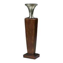 Sterling Industries - Sterling Industries 93-19308 Mid-Century Inspired Candle Holder - Candleholder (1)
