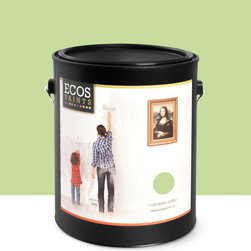 Imperial Paints - Eggshell Wall Paint, Gallon Can, Green Goes Bold - Overview:
