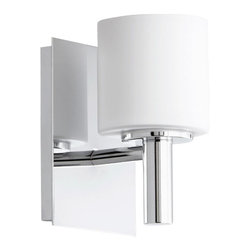 """Quorum International - Quorum International 5668-1 6.5"""" Height 1 Light Bathroom Sconce with Satin Opal - Features:"""