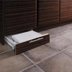 Toe Kick Step Stool Storage - Toe kick step stool storage