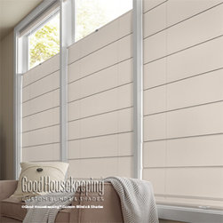 Good Housekeeping - Good Housekeeping Roman Shades: Solarscreen 5% - Now available from Good Housekeeping Blinds and Shades, this unique roman shade is made with energy efficient solar screen material.  By reducing the amount of incoming light, you save on cooling costs.