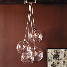 modern chandeliers by West Elm