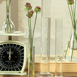 Chemistry Glass Test Tube Vase 250ml 13 5 Quot X 3 Quot Crafted After A Science Set The Chemistry