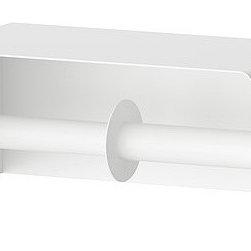 Inma Bermudez - ENUDDEN Toilet roll holder, double - Toilet roll holder, double, white