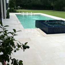 Contemporary Hot Tub And Pool Supplies by QDI Stone - Dallas