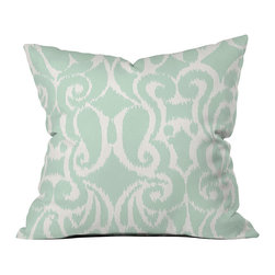 DENY Designs - DENY Designs Khristian A Howell Eloise Throw Pillow - Twilight is a state of mind, not just a time of day. Based out of Denver, CO, DENY Designs works with art communities and artists from around the world to create custom home decor pieces just for you. The beautiful Khristian A Howell Eloise Throw Pillow combines a classic look with a modern twist for a colorful home accent piece. Each pillow is printed with a fade-resistant special dye printing process for long-lasting color and comfort. Make your home beautiful!Custom printed to orderFade resistantWoven polyester coverConcealed zipper6-color dye processKhristian A Howell collection