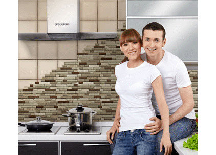 Contemporary  by CoverQUIK Tile