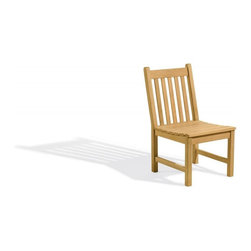 Oxford Garden - Classic Sidechair - Beautifully designed for long lasting comfortable seating, this 4' bench matches the 5' Classic bench and Classic Chairs.