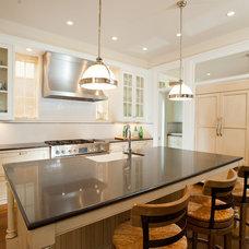 Traditional Kitchen by Bennett Farley Design