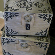 Mediterranean Decorative Trunks by Architectural Justice