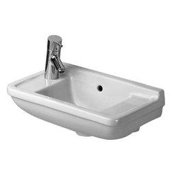 Duravit - Duravit - Handrinse basin 50 cm Right Tap Hole Starck 3 - 0751500008 - Starck3 Series