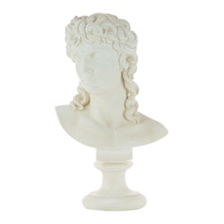 Casa de Arti - Eros God of Love Bust - Beautiful sculpture of the Greek Love God Eros, perfect to display in your home or office at an incredible price.