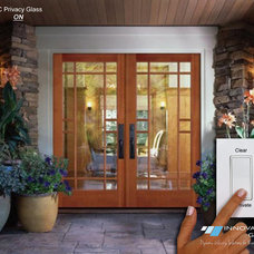 Contemporary Front Doors by Innovative Glass Corp