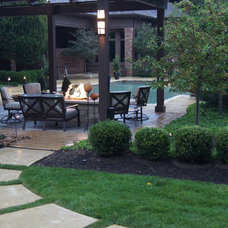 Traditional Patio by Poynter Landscape Architecture & Construction