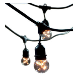 Outdoor String Light - 48' Outdoor String Light Kit with Starlight Globes