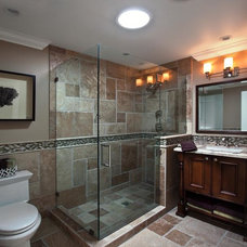 Traditional Bathroom by Beth Whitlinger Interior Design