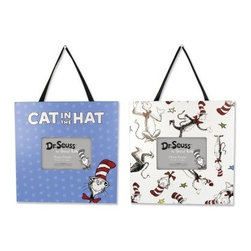 Dr. Seuss CAT IN THE HAT Frames - Set of 2 - About Trend LabBegun in 2001 in Minnesota, Trend Lab is a privately held company proudly owned by women. Rapid growth in the past five years has put Trend Lab products on the shelves of major retailers, and the company continues to develop thoroughly tested, high-quality baby and children's bedding, decor, and other items. With mature professionals at the helm of this business, Trend Lab continues to inspire and provide its customers with stylish products for little ones. From bedding to cribs and everything in between, Trend Lab is the right choice for your children.