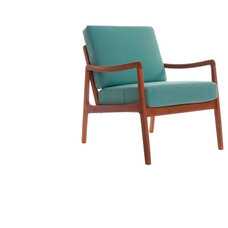 Midcentury Living Room Chairs by Danish Teak Classics
