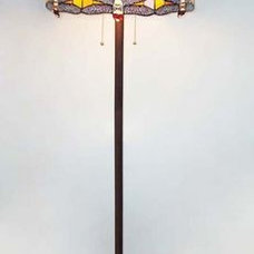 Traditional Floor Lamps by Ruby Plaza