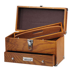 Gerstner GI-515 - Tradesman And Artists Utility Carrying Case. Gerstner Case GI-515 - This carrying case keeps all your essentials right on hand. Whether  it's used for loading up tools for a particular job, or keeps a smaller  collection of items neatly organized - it is an ideal carrying case.  Case lock includes 2 keys.
