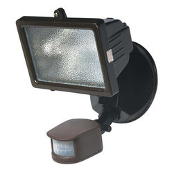 Globe Electric - Globe Electric 79108 150 Watt Halogen Motion Sensored Outdoor Security Light - Features: