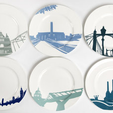 Eclectic Dinner Plates by Bouf