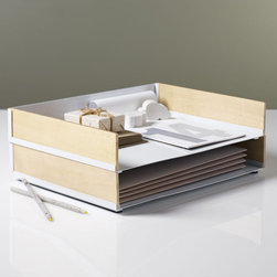 Portola Paper Tray - I like this sleek and stylish option for sorting papers. It will put piles in their place!