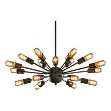 Chandelier Sputnik Pendant Lamp Reproduction Lamp 18 Arms -