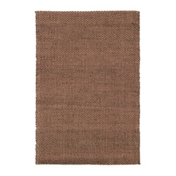 """Loloi Rugs - Loloi Rugs Eco Collection - Rust, 3'-6"""" x 5'-6"""" - Once just a niche for the environmentally conscious, natural fiber rugs like the Eco Collection have become a popular choice for their raw elegance. Hand woven of 100% jute from India, Eco delivers a fashionable and easy-to-place look at a value price."""