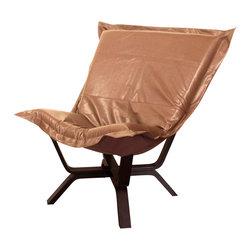 Howard Elliott - Howard Elliott Avanti Bronze Milan Puff Chair - Milan puff chair Avanti bronze