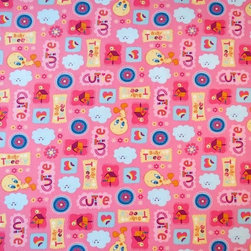 """SheetWorld - SheetWorld Fitted Pack N Play (Graco Square Playard) Sheet - Baby Tweety Pink - This 100% cotton """"woven"""" square playard sheet features the one and only Tweety! Our sheets are made of the highest quality fabric that's measured at a 280 tc. That means these sheets are soft and durable. Sheets are made with deep pockets and are elasticized around the entire edge which prevents it from slipping off the mattress, thereby keeping your baby safe. These sheets are so durable that they will last all through your baby's growing years. We're called sheetworld because we produce the highest grade sheets on the market. Size: 36 x 36. Not a Graco product. Sheet is sized to fit the Graco square playard. Graco is a registered trademark of Graco."""