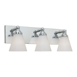Designers Fountain - Designers Fountain 6493-CH 3-Light Bath Bar - Designers Fountain 6493-CH 3-Light Bath Bar