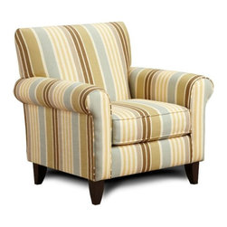 Chelsea Home Furniture - Chelsea Home Hudson Accent Chair Upholstered in Zola Flax - Hudson Accent Chair Upholstered in Zola Flax belongs to Verona VI collection by Chelsea Home Furniture.